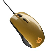 SteelSeries Rival 100 Gaming Mouse - Alchemy Gold for PC Games