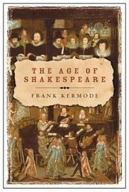 The Age of Shakespeare by Frank Kermode image