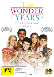 The Wonder Years - Collection One (Season 1-3) on DVD