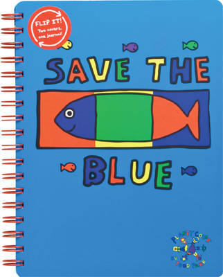 Todd Parr Journal Save the Blue by Todd Parr image