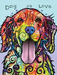 Dean Russo Dog Is Love Journal by Dean Russo