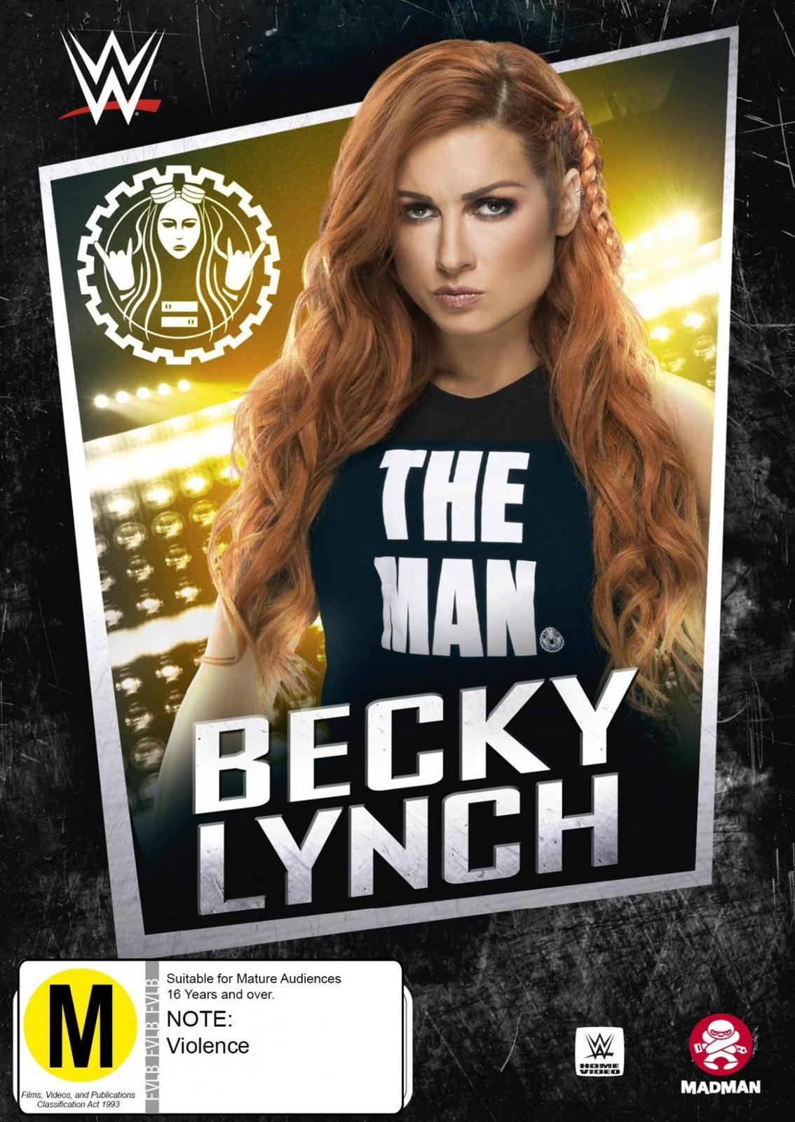 WWE: Becky Lynch - The Man on DVD image