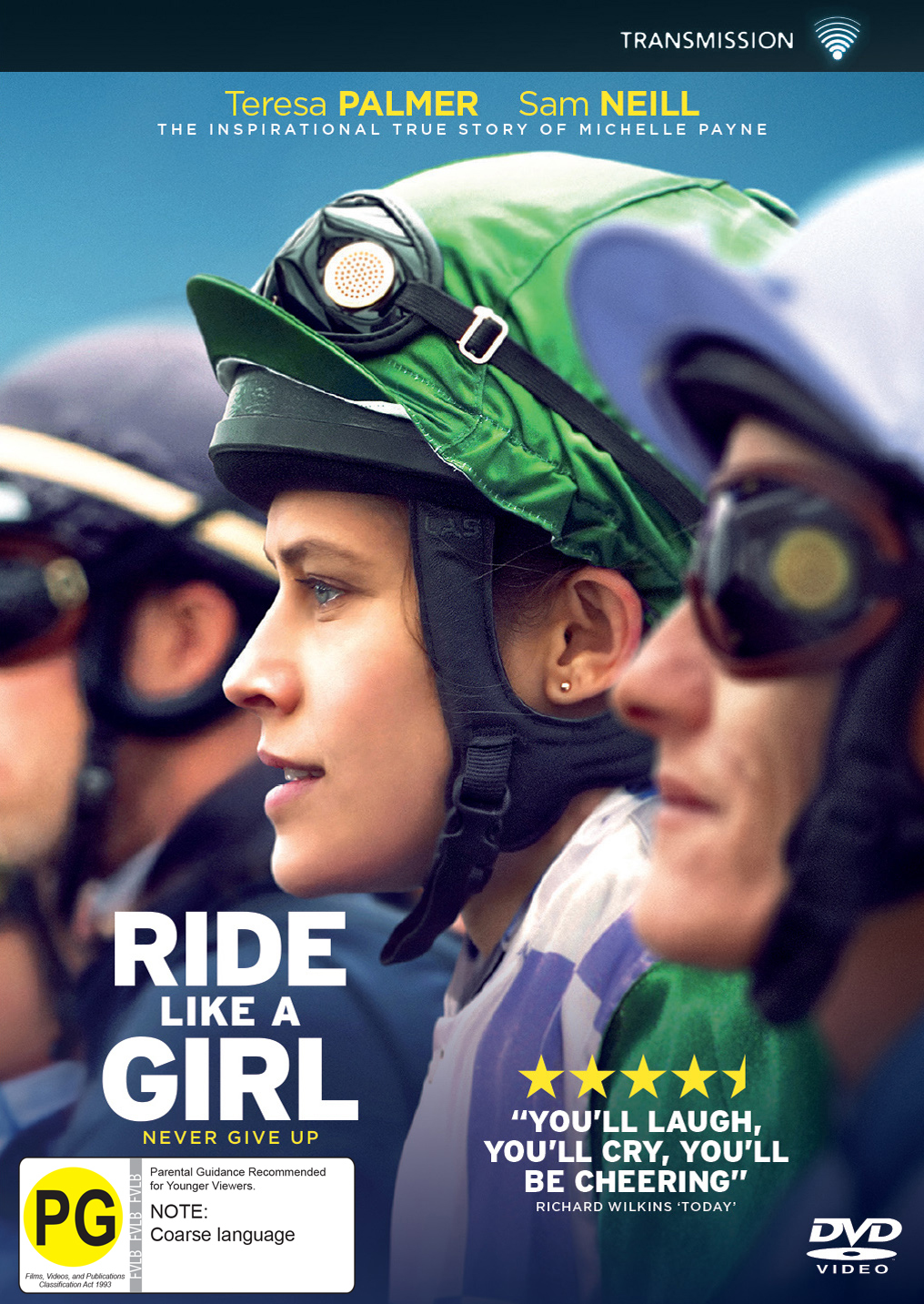 Ride Like A Girl on DVD image