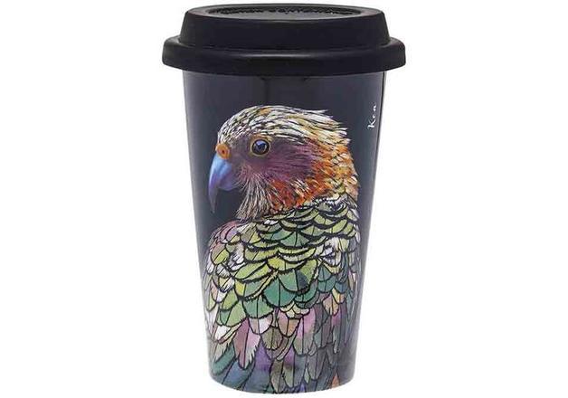 Ashdene: Majestic Birds - Kea Travel Mug