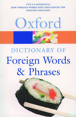 The Oxford Dictionary of Foreign Words and Phrases image