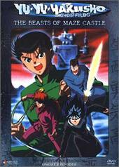 Yu Yu Hakusho: Ghost Files - Vol 05 Beasts of Maze Castle on DVD