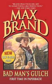 Bad Man's Gulch by Max Brand