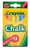 Crayola - 12 Coloured Chalk Sticks