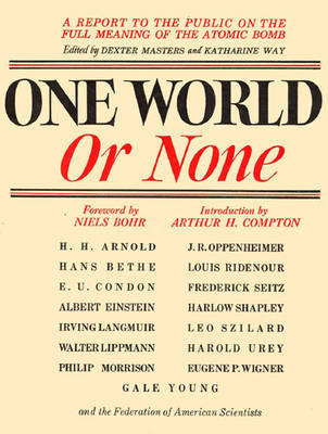 One World Or None by Dexter Masters