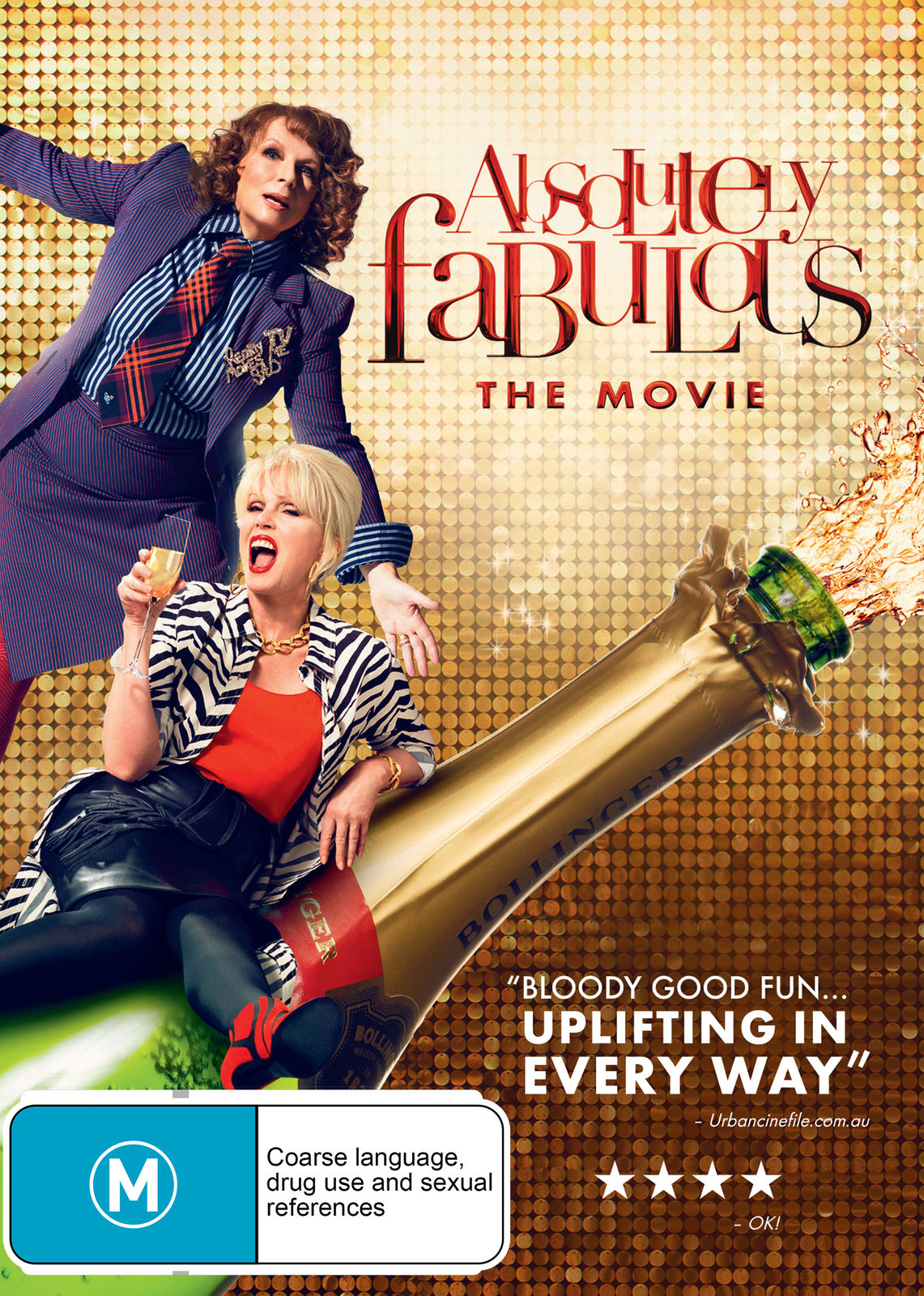 Absolutely Fabulous: The Movie on DVD image