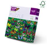 Crocodile Creek: Butterflies Puzzle - 300pc