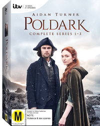 Poldark: Season 1-3 Boxset on DVD image