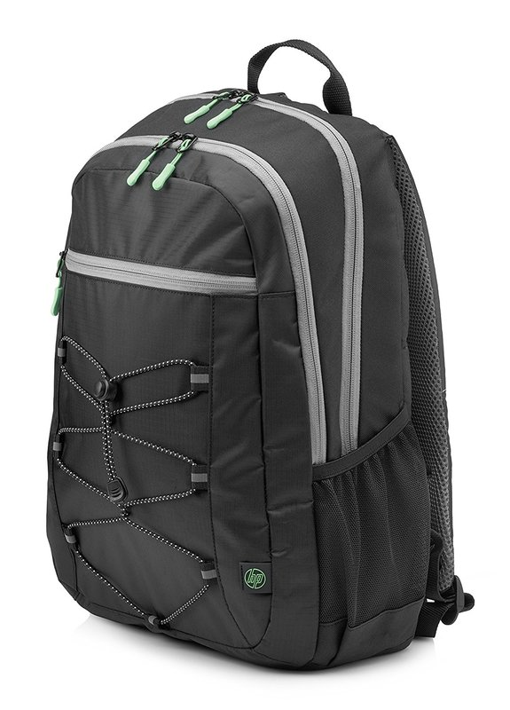 "HP 15.6"" Active - Laptop Backpack (Black/Mint)"