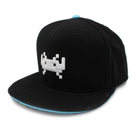 Space Invaders Invader Snapback Hat (One Size Fits Most)