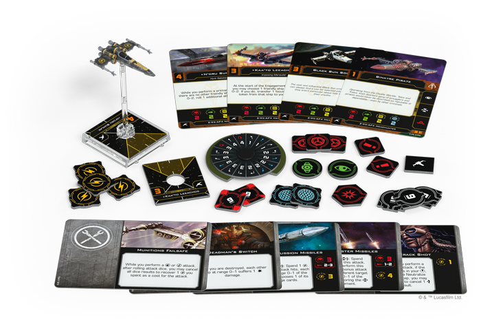 Star Wars X-Wing Second Edition Z-95-AF4 Headhunter Expansion Pack image