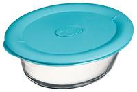 Pyrex: Pro Round Storage Dish - Teal (2.85L)