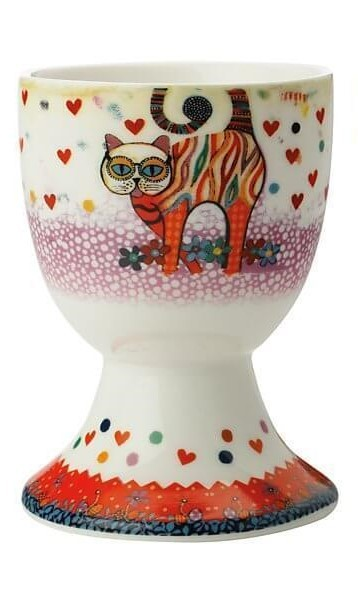 Maxwell & Williams Smile Style Egg Cup Tabby