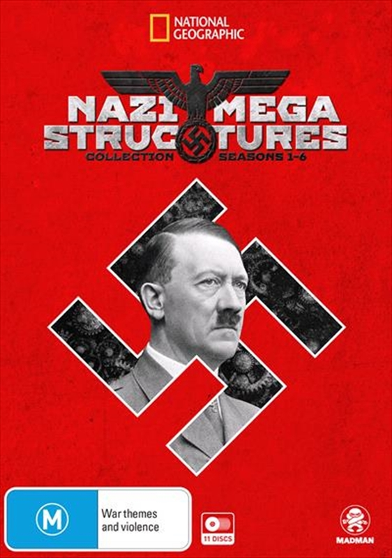 National Geographic: Nazi Megastructures - Season 1-6 Collection on DVD