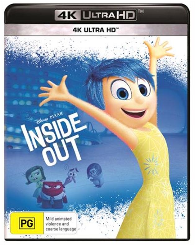 Inside Out (4K UHD) on UHD Blu-ray