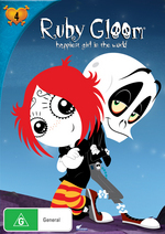 Ruby Gloom - Happiest Girl In The World: Vol. 4 on DVD