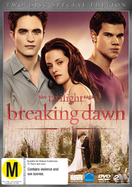 The Twilight Saga: Breaking Dawn - Part 1 on DVD