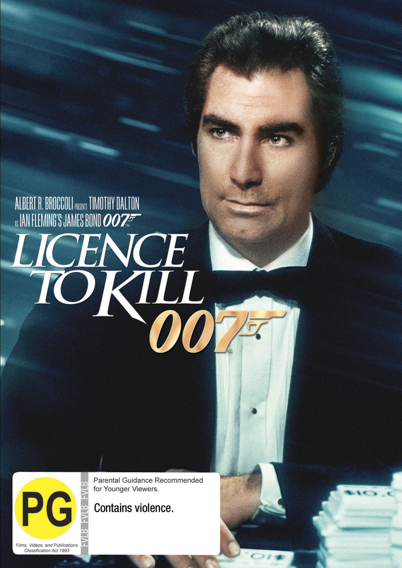 Licence to Kill (2012 Version) on DVD image