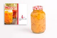 Mason Preserving Jars 1 Litre (Set of 4)