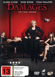 Damages - Season 5 on DVD