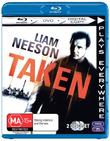 Taken on DVD, Blu-ray