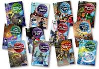 Project X Alien Adventures: Grey Book Band, Oxford Levels 12-14: Grey Book Band Mixed Pack of 12 by Tony Bradman