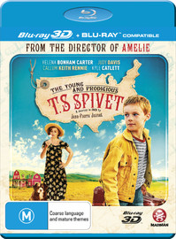 The Young And Prodigious T.s Spivet on Blu-ray, 3D Blu-ray