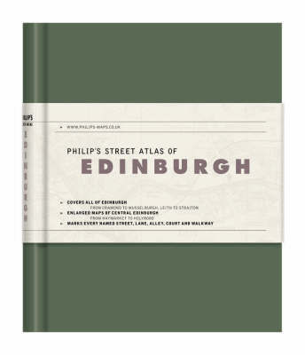 Philip's Street Atlas of Edinburgh image
