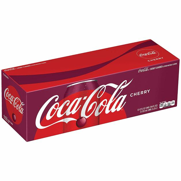 Cherry Coke Fridge Pack (355ml)