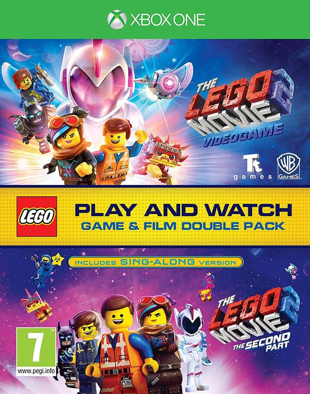 Lego Movie 2 Game & Film Double Pack for Xbox One
