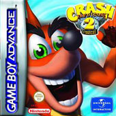 Crash Bandicoot 2 Entranced for Game Boy Advance