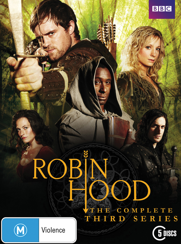 Robin Hood - Season 3 (5 Disc Set) on DVD