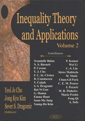 Inequality Theory & Applications