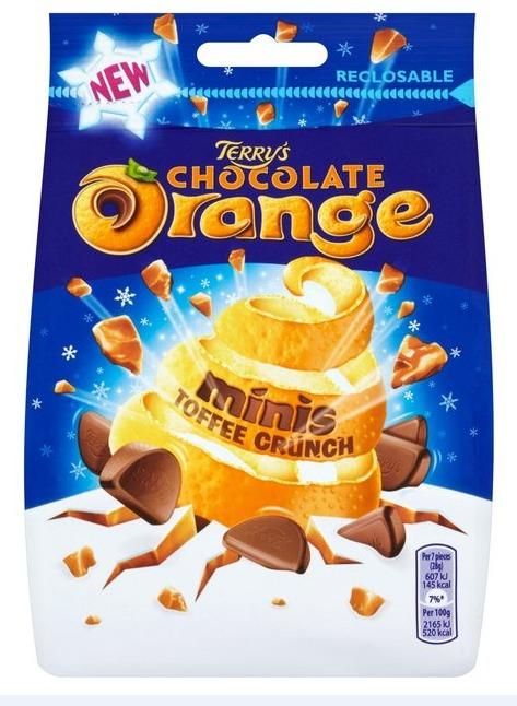 Terry's Chocolate Orange Minis Toffee Crunch (125g)