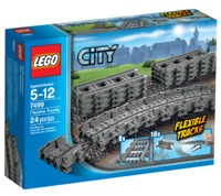 LEGO City: Flexible & Straight Track Set (7499)