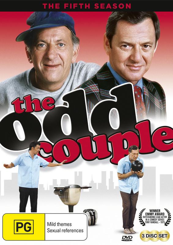 The Odd Couple - The Fifth Season on DVD
