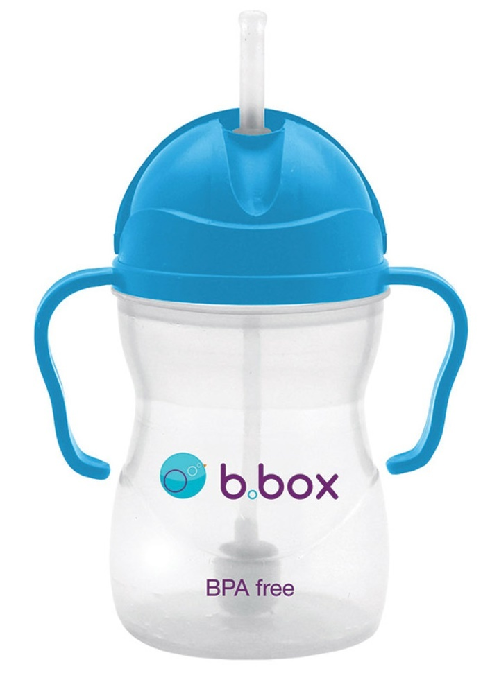 B.Box: Sippy Cup - Neon Cobalt Blue image