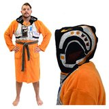 Star Wars Hooded Fleece Bathrobe (X-Wing Pilot)