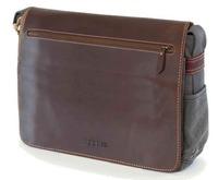 Endeavour Leather & Canvas Satchel