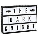 Batman Light Up Cinema Box With Letters