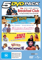 5 DVD Pack (Breakfast Club / Sure Thing / Sixteen Candles / Fast Times At Ridgemont High / Weird Science) (5 Disc Set) on DVD
