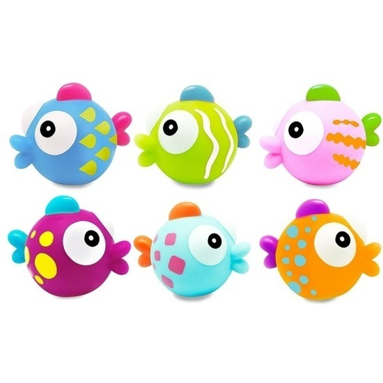 Escabbo: Tropical Fishes Squirters - (Set of 6) image