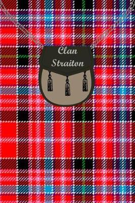 Clan Straiton Tartan Journal/Notebook by Clan Straiton