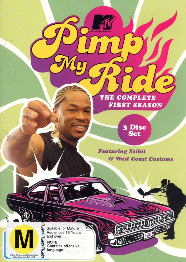 Pimp My Ride: The Complete First Season (3 Disc) on DVD image