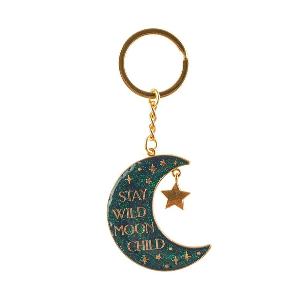 Sass & Belle: Moon Child Celestial Keyring