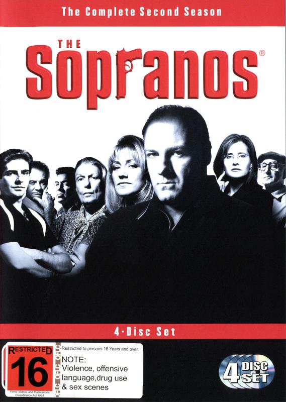 The Sopranos - Season 2 (4 Disc Box Set) on DVD